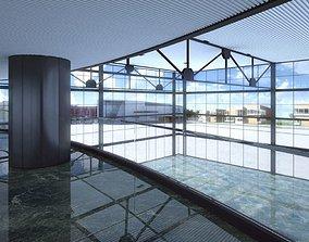 3D model Spacious Empty Hall