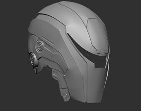 Helmet Drone EM-208 from RoboCop 2014 3D printable model