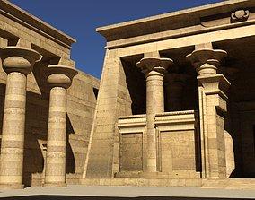 3D model Kalabsha Temple architectural