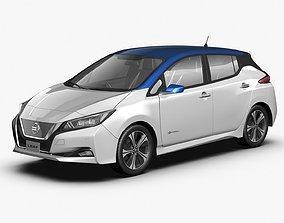 2018 Nissan Leaf 3D