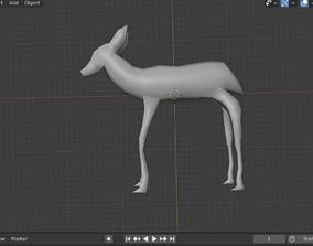 3D model of Deer