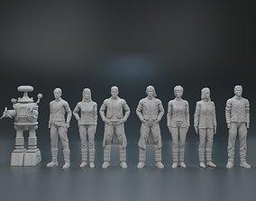 3D printable model TV series characters Lost In Space