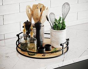 3D Kitchen Accessories Corona