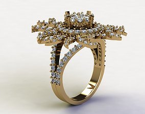 women ring new design cad file and 3dm file R84