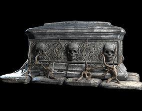3D asset tomb evil