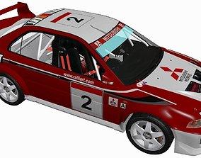 Mitsubishi EVO V 3D