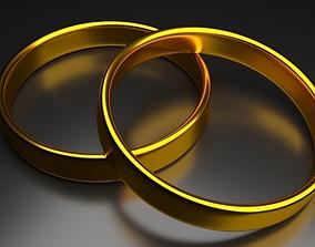 3D model Jewlery Gold Ring