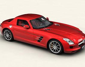 Mercedes SLS 2011 3D model