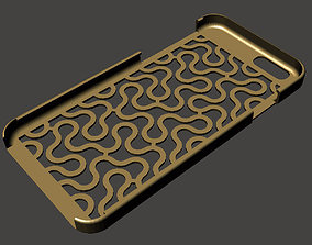 Dragon Curve iPhone 6 case 3D print model