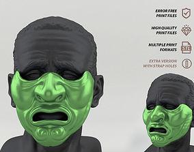 Mempo Japanese Mask 3D printable model