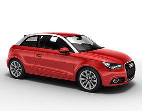 3D model Audi A1 2010 car