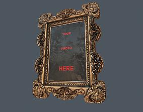 3D asset Antique Frame