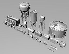 3D print model Miniature Building Dressing Pack