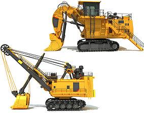 3D Mining Shovels
