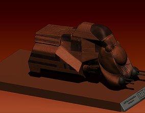 3D starwars MTT tank
