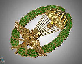 3D print model Royal Hungarian Army Parachutist Skill