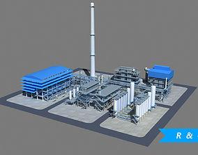 Refinery 3D asset