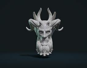 3D print model Demon Head demon