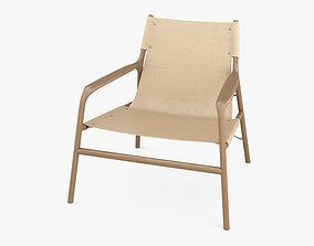 Bolia Soul Lounge chair beige 3D