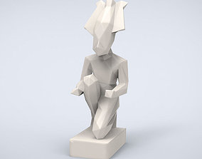 Printable Osiris Lowpoly Style