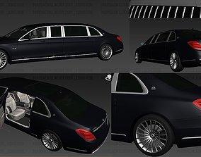3D asset MercedesBenz S650 Pullman Maybach Long Rbk
