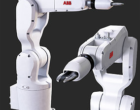 3D model industrial robot IRB 1200
