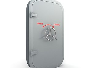 Explosion-proof Door 3D model