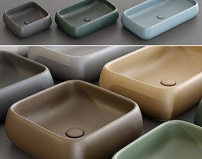 3D asset Ceramica Cielo Shui Washbasins