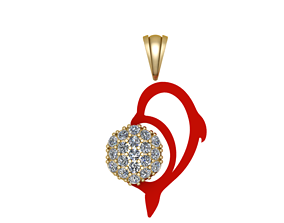 diamond beauty 3D printable model