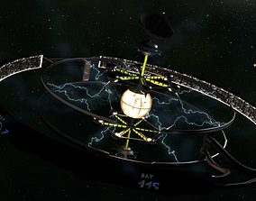 3D model Dyson Sphere Space Station Colony