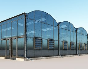 3D model game-ready Greenhouse