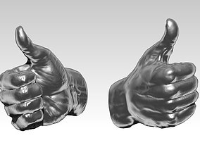 3D printable model Nice Super Best Cool Hand gesture