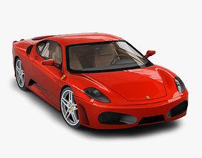 3D asset Ferrari F430 Berlinetta