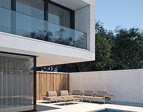 Exterior House Scene 2 3D