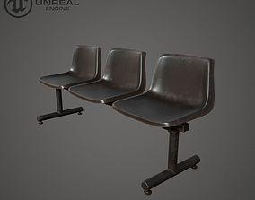 3D asset Plastic Chairs