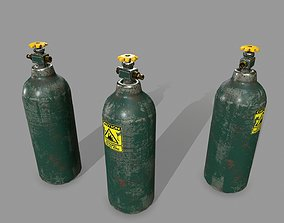 Propane Tank 3D model VR / AR ready
