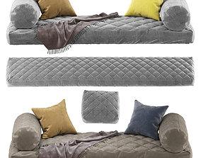 Seat pillow set 2 3D model