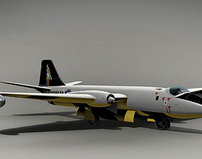 3D model English Electric Canberra B2