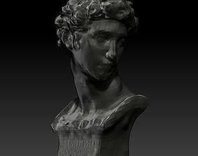 3D printable model decor statue
