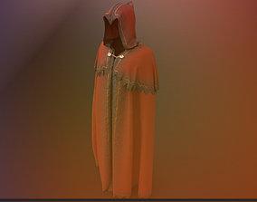 Ember Cloak 3D asset