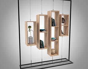 case 3D Book Shelf