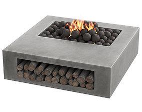 3D 033 Concrete BBQ Light 00