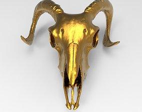 ram skull for 3D print