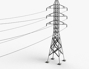 3D model Powerline