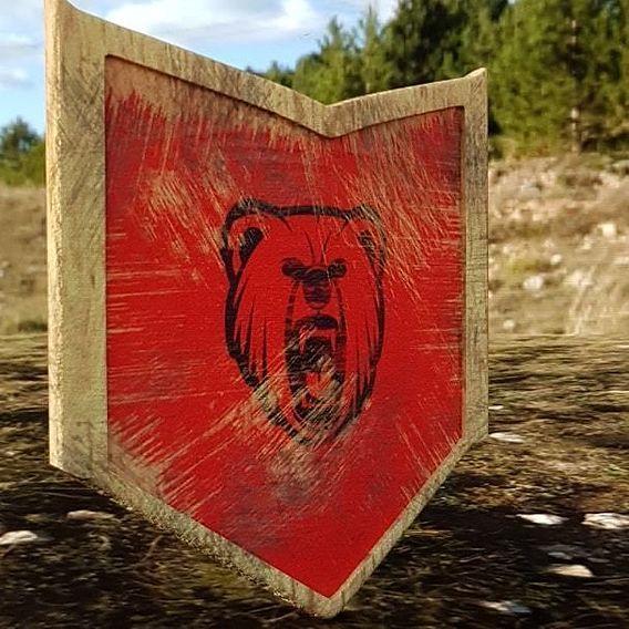 Wooden Shield & sword
