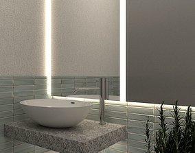 3D Bathroom Interior Sketchup