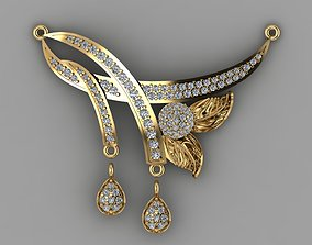 Mangalsutra 3D rigged scanned