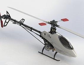 esky Belt CP V2 Custom RC Helicopter 3D