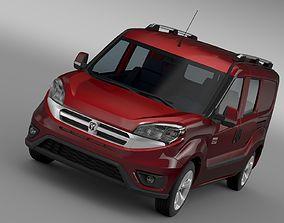 Ram ProMaster City Wagon SLT 2017 3D model