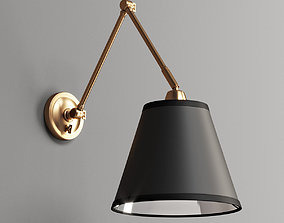 3D First Edition Adjustable Arm Reading Wall Lamp